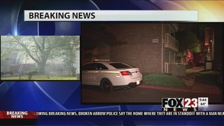 VIDEO: Home invasion in a south Tulsa apartment complex
