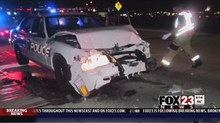 VIDEO: Owasso police sergeant recovering after car crash