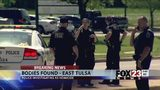 VIDEO: 2 dead, man in custody in homicide investigation at east Tulsa apartment complex