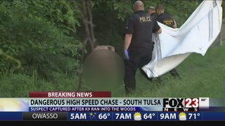 Police find alleged wrong-way semi driver naked in south Tulsa