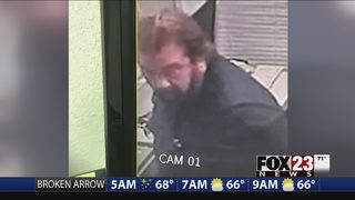 Police search for suspect accused of breaking into Wagoner church