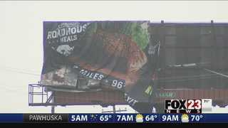 Weather damage in Tulsa after Wednesday storms