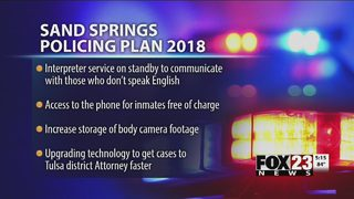 Sand Springs police release new 2018 policing plan