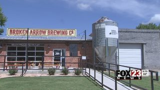 Broken Arrow brewery opens for business