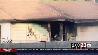Firefighters investigating cause of east Tulsa house fire