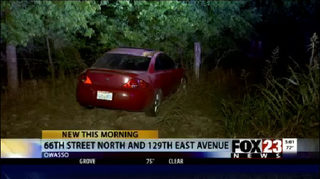 Police searching for a driver after a high-speed chase Tuesday