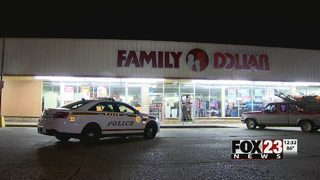 Tulsa police investigating a break-in at Family Dollar in north Tulsa