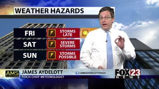 Weekend Storms on the Way
