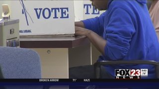 VIDEO: Early voting for Oklahoma primary election begins