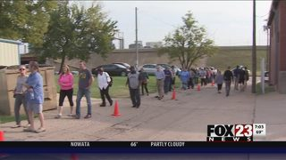 VIDEO: Early voting in Oklahoma begins Thursday