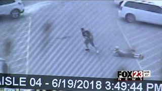 Tulsa police search for suspected purse thief