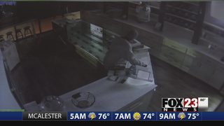 Thief breaks into Barbee Cookies in Tulsa