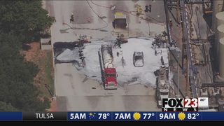 Emergency crews respond to possible explosion in Kingfisher County
