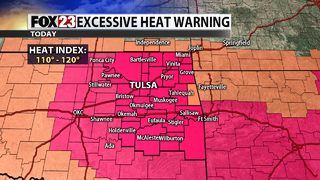 Dangerous heat arrives for any Friday plans