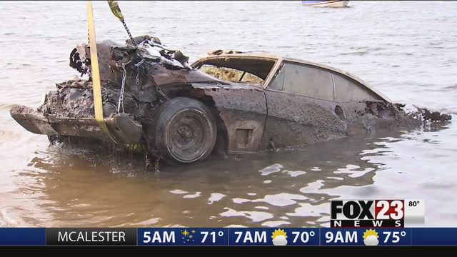 DETAILS: Car Recovered From Keystone Lake | FOX23
