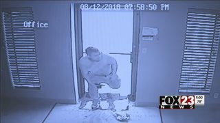 Police arrest man they say broke into Tulsa business, stole pickup truck