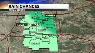 Showers and storms bring more rain to Green Country