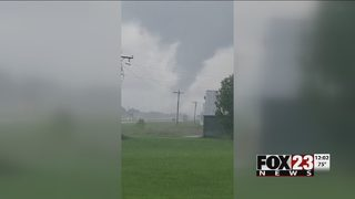 National Weather Service determines EF-1 tornado caused damage in Inola, Chouteau