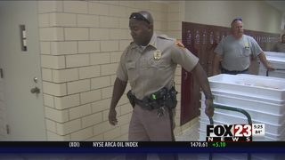 VIDEO: McClain 7th Grade Academy students to receive free school supplies thanks to donations