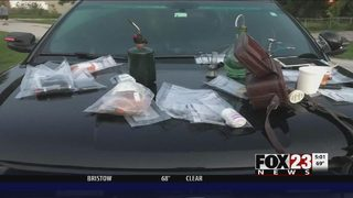 Drug bust leads to discovery of homemade explosives in Sperry