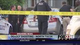 VIDEO: Man dead after north Tulsa shooting