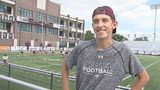 """Varsity Chris"" continues to inspire Jenks football"
