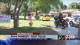 VIDEO: One arrested after east Tulsa bank robbery
