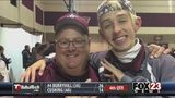 "VIDEO - Super fan ""Varsity Chris"" still committed to Jenks football"