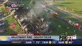 VIDEO: Cause of south Tulsa apartment fire under investigation