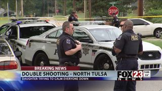 Two injured in north Tulsa shooting