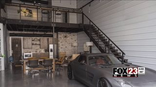 VIDEO: Garage Condos in Green Country