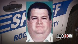 Memorial held for Rogers County deputy killed by car in 1998