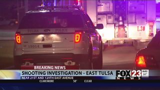 VIDEO: Man shot in the chest in east Tulsa