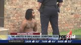 VIDEO: Two arrested in triple homicide and arson in north Tulsa