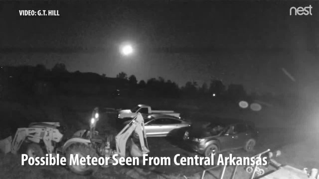 WATCH: Possible Meteor Sighting in Green Country | FOX23