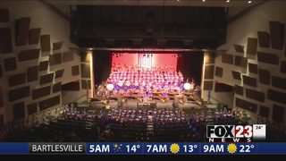 Pride of Broken Arrow band performs nationally recognized, patriotic show