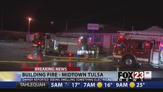Fire damages Tulsa building being renovated into marijuana dispensary