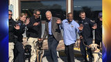 Billy Sims donates $25,000 to K9 training center