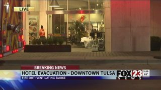 VIDEO: Crews working to restore downtown hotel after fire
