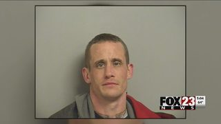 VIDEO: Man arrested after chase and theft