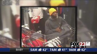 VIDEO: Owasso police search for shoplifting suspects