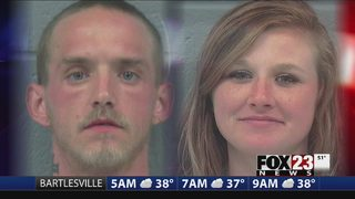 VIDEO: Two arrested after police standoff