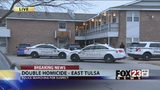 VIDEO: East Tulsa double homicide shooting investigation