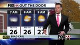 Staying chilly, but sunny for Sunday