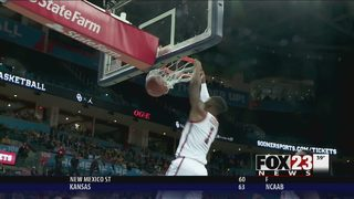 James has 14 points, 13 rebounds; Oklahoma tops Wichita St.