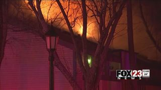 One dead after fire at south Tulsa apartment