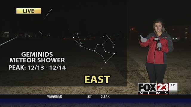 METEOR SHOWER: When, where to watch in Oklahoma | FOX23