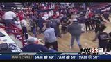 VIDEO: Brawl at high school basketball game