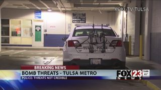 Tulsa police respond to bomb threats affecting organizations nationwide