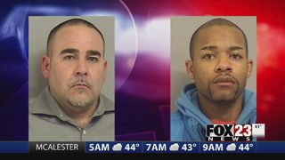 Two suspects in Tulsa fraud ring arrested after home security catches mail theft